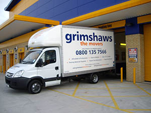 Grimshaws Van in Storage Bay